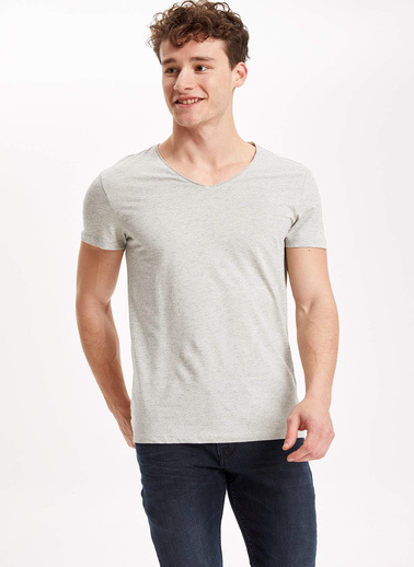 DeFacto T-Shirt Beyaz